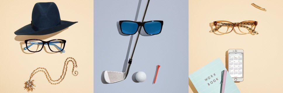 Eyewear to suit your life