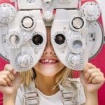 childrens eye check