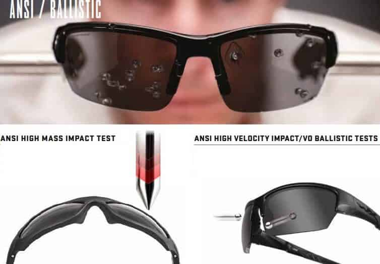 ballistic protection eywear