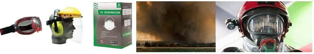 fire and eye protection
