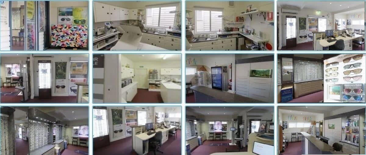 optometry layout Peter D'Arcy optometrist